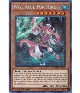 Yu-Gi-Oh! Wiz. Sage Fur Hire - DASA-EN022