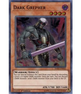 Yu-Gi-Oh! Dark Grepher - DASA-EN042