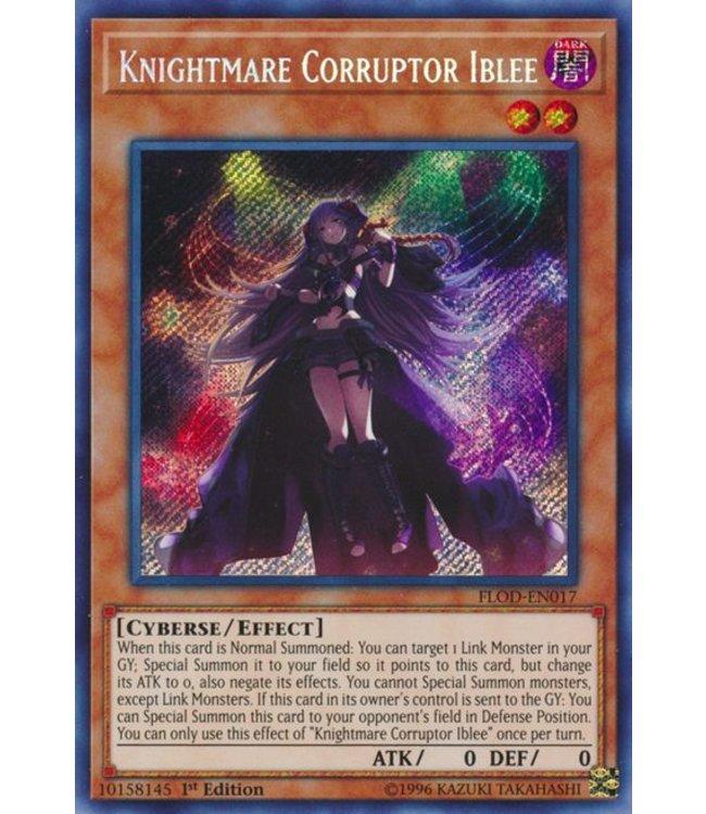 Yu-Gi-Oh! Knightmare Corruptor Iblee FLOD-EN017