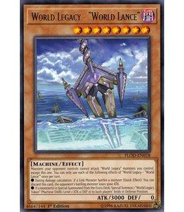 Yu-Gi-Oh! World Legacy - World Lance FLOD-EN018
