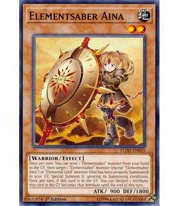 Yu-Gi-Oh! Elementsaber Aina FLOD-EN019
