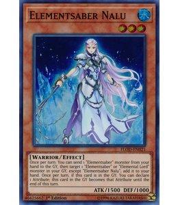 Yu-Gi-Oh! Elementsaber Nalu FLOD-EN021