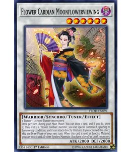 Yu-Gi-Oh! Flower Cardian Moonflowerviewing FLOD-EN094