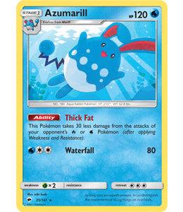 Pokemon Azumarill - S&M BuSh 35/147 - Reverse