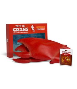Exploding Kittens You've Got Crabs Imitation Crab Expansion Kit