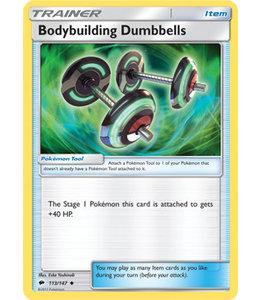 Pokemon Bodybuilding Dumbbells - S&M BuSh 113/147 - Reverse