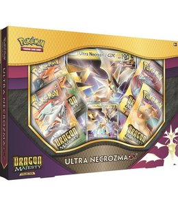 Pokemon Dragon Majesty Ultra Necrozma GX Box