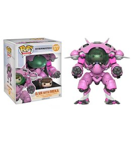 Funko Overwatch Super Sized POP! Games Vinyl Figure D.VA & Meka 15 cm