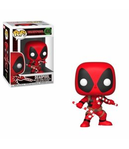 Funko Funko POP! Holiday - Deadpool w Candy Canes Vinyl Figure 10cm