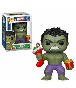 Funko Funko POP! Holiday - Hulk w Stocking and Plush Vinyl Figure 10cm