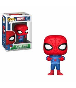 Funko Funko POP! Holiday -Spider-Man w  Ugly Sweater Vinyl Figure 10cm