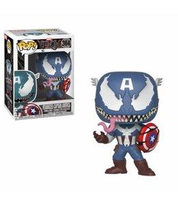 Funko Funko POP! Venom: Venom Captain America Vinyl Figure 10cm