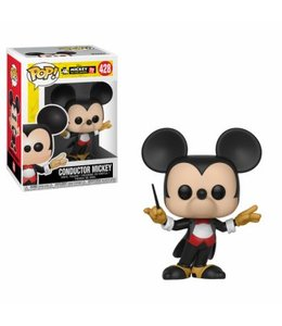 Funko Funko POP! Mickey's 90th Anniversary: Conductor Mickey Vinyl Figure 10cm