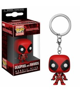 Funko Funko POP! Keychain Deadpool w  Swords - Vinyl Figure 4cm