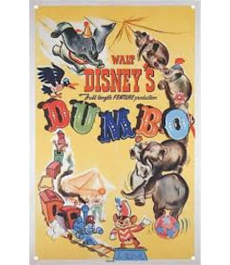 Half Moon Bay DISNEY LARGE TIN SIGN - DUMBO CLASSIC FILM POSTER