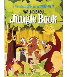 Half Moon Bay DISNEY LARGE TIN SIGN - JUNGLE BOOK CLASSIC FILM POSTER