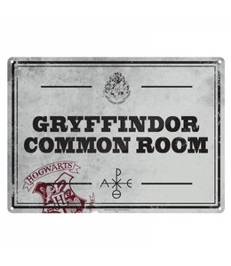 Half Moon Bay HARRY POTTER SMALL TIN SIGN - COMMON ROOM