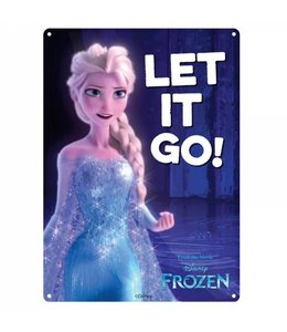 Half Moon Bay DISNEY SMALL TIN SIGN - FROZEN LET IT GO