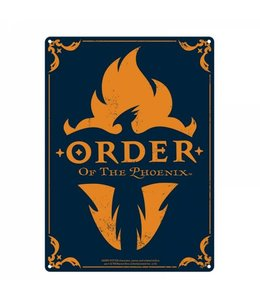 Half Moon Bay HARRY POTTER LARGE TIN SIGN - ORDER OF THE PHOENIX