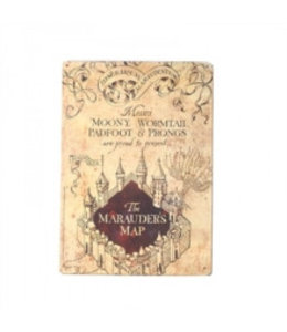 Half Moon Bay HARRY POTTER SMALL TIN SIGN - MARAUDERS MAP