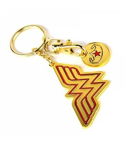 Half Moon Bay WONDER WOMAN KEYRING WITH TROLLEY COIN - STARS