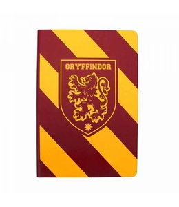 Half Moon Bay HARRY POTTER A5 NOTEBOOK - GRYFFINDOR STRIPE