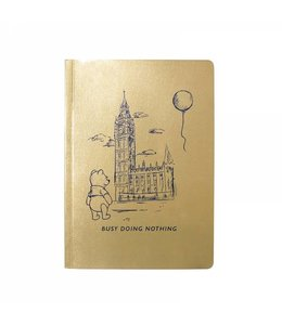Half Moon Bay DISNEY WINNIE THE POOH A5 NOTEBOOK - BUSY DOING NOTHING