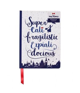 Half Moon Bay DISNEY MARY POPPINS A5 NOTEBOOK - SUPERCALIFRAGILISTICEXPIALIDOCIOUS