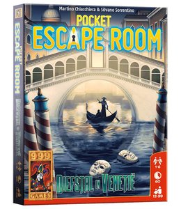 999 Games Pocket Escape Room: Diefstal in Venetie