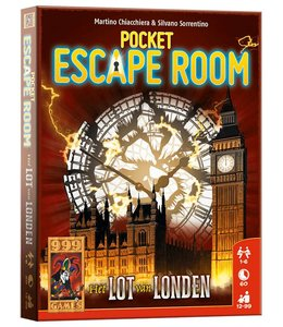 999 Games Pocket Escape Room: Het lot van Londen