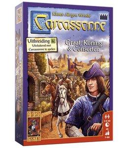 999 Games Carcassonne: Graaf, Koning en Consorten - Bordspel