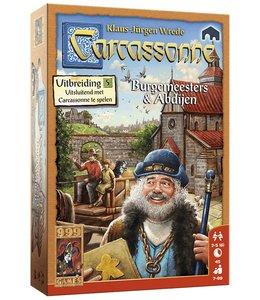999 Games Carcassonne: Burgemeesters en Abdijen - Bordspel
