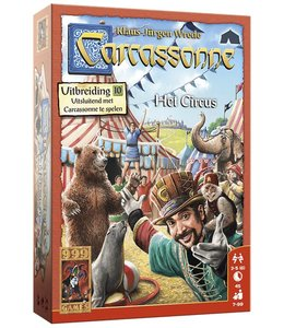 999 Games Carcassonne: Het Circus - Bordspel