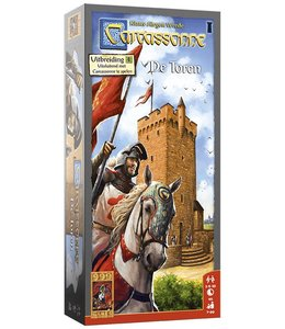 999 Games Carcassonne: De Toren - Bordspel