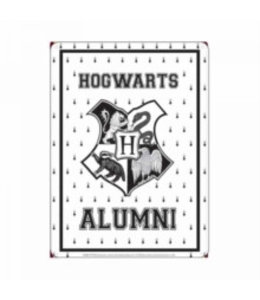 Half Moon Bay Harry Potter Tin Sign Hogwarts Alumni 21 x 15 cm