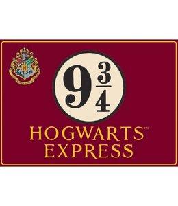 Half Moon Bay Harry Potter Tin Sign Platform 9 3/4 41 x 30 cm