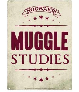 Half Moon Bay Harry Potter Tin Sign Muggle Studies 21 x 15 cm