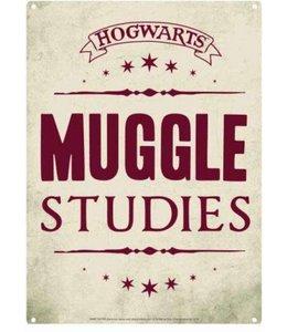 Half Moon Bay Harry Potter Tin Sign Muggle Studies 21 x 15 cm