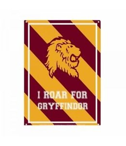 Half Moon Bay Harry Potter Tin Sign Roar Gryffindor 21 x 15 cm
