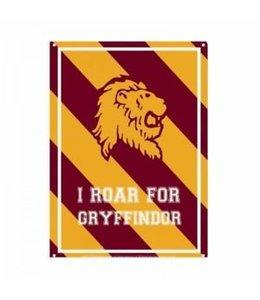Half Moon Bay Harry Potter Tin Sign Roar Gryffindor 21 x 15 cm