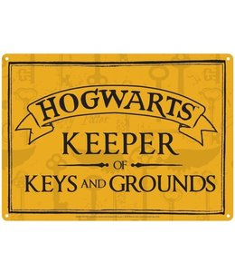 Half Moon Bay Harry Potter Tin Sign Keeper of Keys 21 x 15 cm