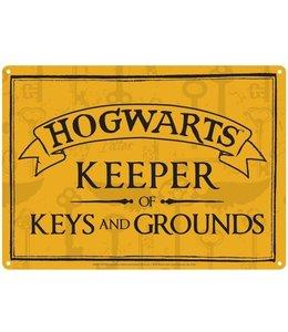 Half Moon Bay Harry Potter Tin Sign Keeper of Keys 21 x 15 cm