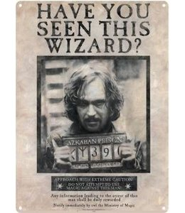 Half Moon Bay Harry Potter Tin Sign Sirius Black 41 x 32 cm