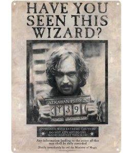 Half Moon Bay Harry Potter Tin Sign Sirius Black 41 x 32 cm