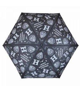Cinereplicas Harry Potter Folded Umbrella Hogwarts Slogan