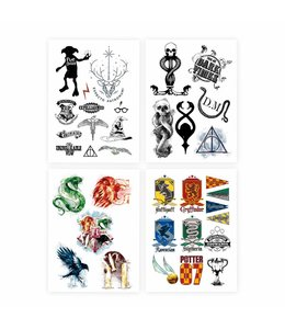 Cinereplicas Harry Potter Temporary Tattoos Set