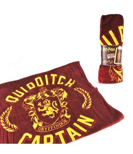 Cinereplicas Harry Potter Towel (Cape) Quidditch Captain 135 x 72 cm