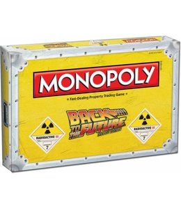 Winning Moves Back to the Future Board Game Monopoly