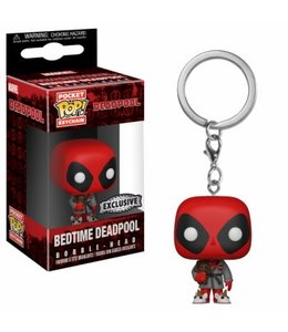 Funko Funko POP! Keychain: Deadpool Playtime-Deadpool Bath Robe Vinyl Figure 4cm Limited