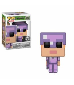 Funko Funko POP! Minecraft: Alex w/ Enchanted Armour Vinyl Figure 10cm Limited